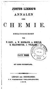 Justus Liebigs Annalen der Chemie: Bände 253-254