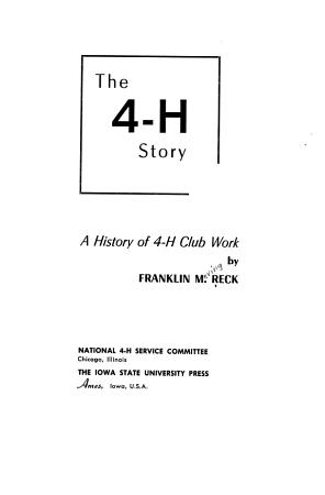 The 4 H Story PDF