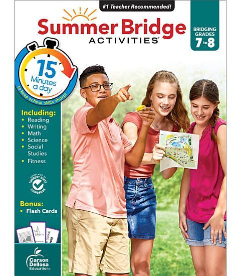 Summer Bridge Activities   PDF
