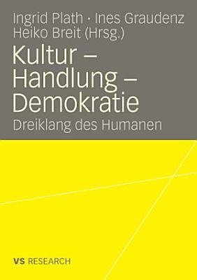 Kultur   Handlung   Demokratie PDF