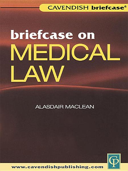 Download Briefcase on Medical Law Book