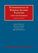 Fundamentals of Federal Income Taxation   Casebookplus Book