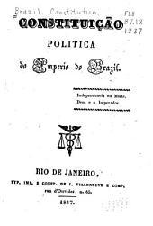 Constituição politica do Imperio do Brazil