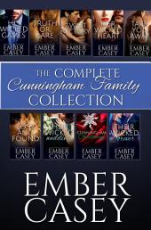 The Complete Cunningham Family Collection: The Full Contemporary Romance Series