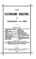 The Electricians  directory  afterw   The Electrician  electrical trades  directory and handbook  afterw    The Electrician  directory and handbook of the electrical engineering and allied trades  afterw   The Blue book  afterw   The Electrician blue book  afterw   Electrical trades directory  the Electrical journal blue book  afterw   Electrical and electronics trade directory PDF