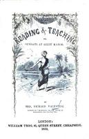 Reading and Teaching  or Sundays at Selby Manor PDF