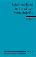 Lekt  reschl  ssel f  r Sch  ler  Ray Bradbury  Fahrenheit 451 PDF