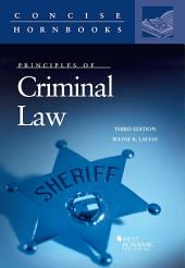 Principles of Criminal Law: Edition 3