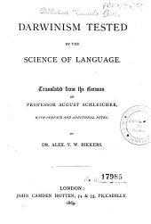 Darwinism Tested by the Science of Language