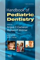 Handbook of Pediatric Dentistry PDF