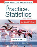 Teacher s Edition for The Practice of Statistics