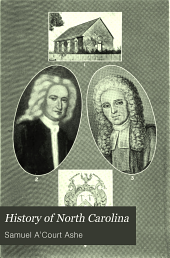 History of North Carolina: From 1584 to 1783