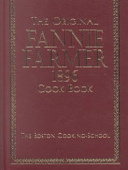 The Original Fannie Farmer 1896 Cook Book
