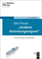 Die Praxis  Anderer Vertretungsorgane  PDF
