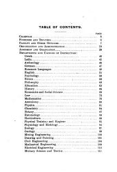 The Leland Stanford Junior University Circulars and Registers: 1891-1894