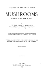 Mushrooms, Edible, Poisonous, Etc