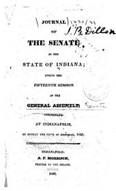 Journal of the Indiana State Senate ... of the General Assembly, ...: Volume 15