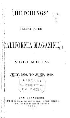 Hutchings  Illustrated California Magazine PDF