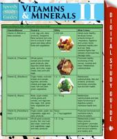 Vitamins & Minerals Il (Speedy Study Guides)