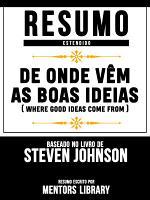 Resumo Estendido  De Onde V  m As Boas Ideias  Where Good Ideas Come From  PDF