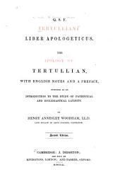 Apology of Tertullian