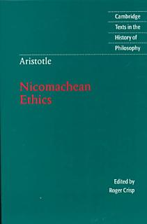 Aristotle  Nicomachean Ethics Book