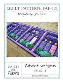 Advent Wreaths Quilt Pattern (3-In-1)