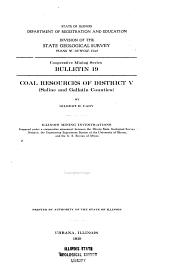 Cooperative Mining Series. Bulletin: Illinois Mining Investigations