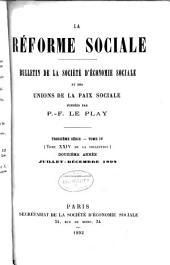 Revue d'ëconomie sociale et rurale: Volume24