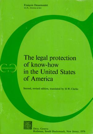 The Legal Protection of Know how in the United States of America PDF