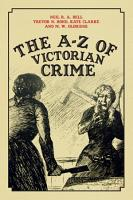 The A Z of Victorian Crime PDF