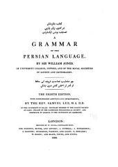 A Grammar of the Persian Language