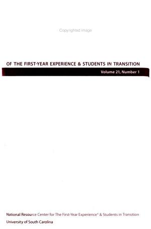 Journal of the First-year Experience & Students in Transition