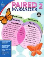 Paired Passages  Grade 2 PDF