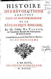 Histoire des révolutions arrivées dans le gouvernement de la république romaine: Volume2