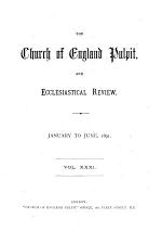 The Church of England Pulpit, and Ecclesiastical Review