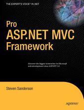 Pro ASP.NET MVC Framework