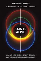 Saints Alive  Participant s Journal PDF