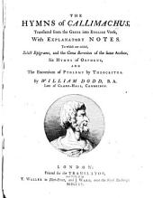 The Hymns of Callimachus