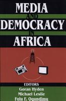 Media and Democracy in Africa PDF