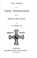 The Poetry of the Codex Vercellensis PDF