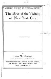 The Birds of the Vicinity of New York City PDF