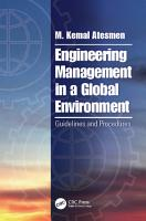 Engineering Management in a Global Environment PDF