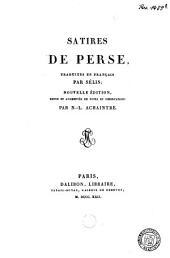 Satires de Perse