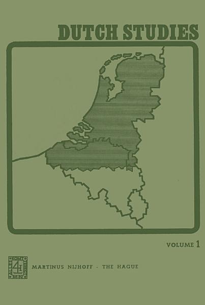 Download Dutch Studies Book