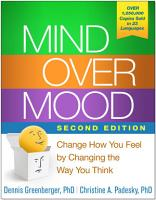 Mind Over Mood  Second Edition PDF