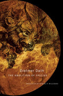 The Abolition of Species Book