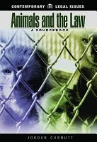 Animals and the Law PDF