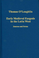 Early Medieval Exegesis in the Latin West PDF