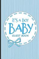 It s A Boy Baby Guest Book PDF